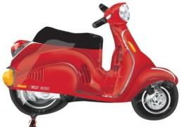 Motor Scooter-Red