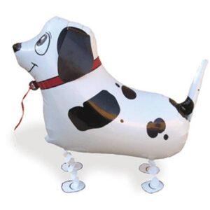 Sétáló kutya lufi