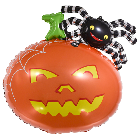 Halloween balloons spider
