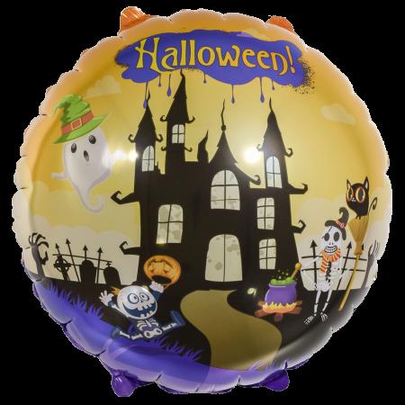 Halloween kastle fólia léggömb