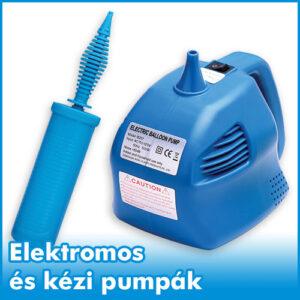 Elektromos és kézi pumpák
