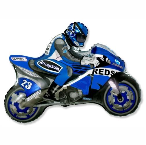 super moto kék