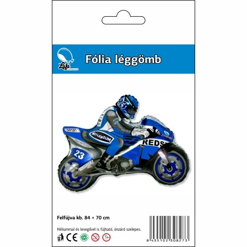 super motor kék