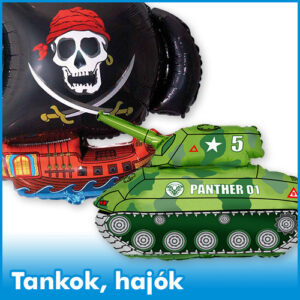 Tankok, hajók