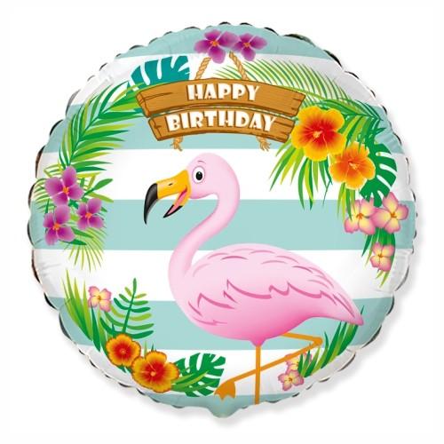 Flamingó happy birthday