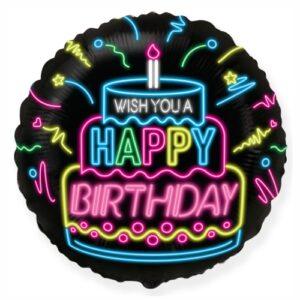 Happy birthday tortás