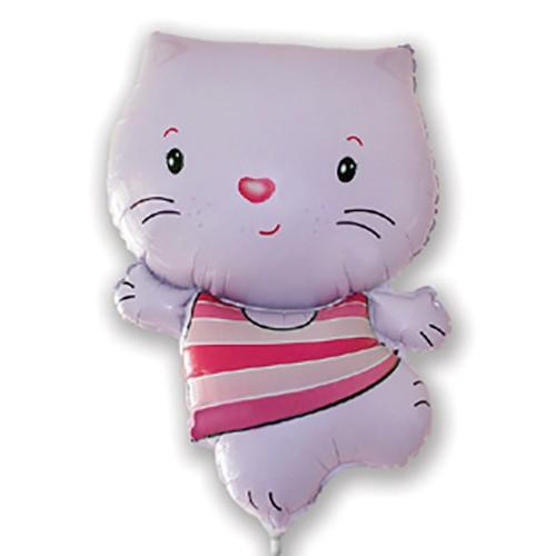 Hello Kitty csíkos pink