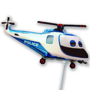 rendőr helikopter kék